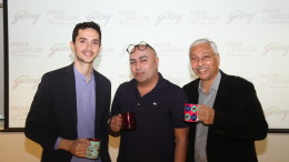 Godrej & Boyce takes majority Stake in India Circus(L-R) Navroze Godrej, Krsnaa Mehta and Anil Mathur
