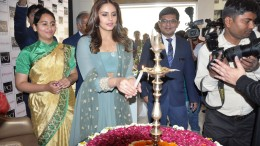 Huma Qureshi unveils seven Nazraana collections at PC Jeweller store , Ahmedabad