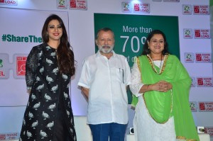 Actress Tabu Supriya Pathak and Pankaj Kapoor at the Ariel Share the Load panel discussion  on International Women's Day