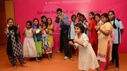 P.D.Hinduja Hospital organized a self-defence workshop for kids on account of International Women's Day