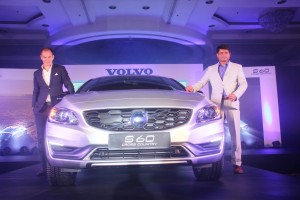 Tom von Bonsdorff, Managing Director, Volvo Auto India with Mr. Sudeep Narayan, PR & Digital Director, Volvo Auto India