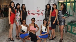 Triumph reveals it's new logo in the presence of FMI contestants at Grandmamas Cafe (2)