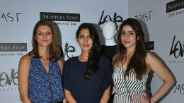 Nandita Mahtani, Dolly Sidhwani and Bhavana-Pandey at the launch of Love-Genration at Shoppers-Stop