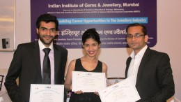 Winners of Best concept, Best Design and Best Execution at  'Glimpz 16' at IIGJ.
