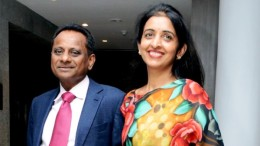 Krishna Prasad Chigurupati, Chairman and Managing Director, Granules India Ltd, and his wife Uma Chigurupati, who is also a Director on the board