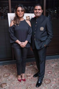 LONDON (GPN)   : Gauri Khan with Ajay Chaudhary CMD Ace Group- Photo by GPN NETWORK / LONDON