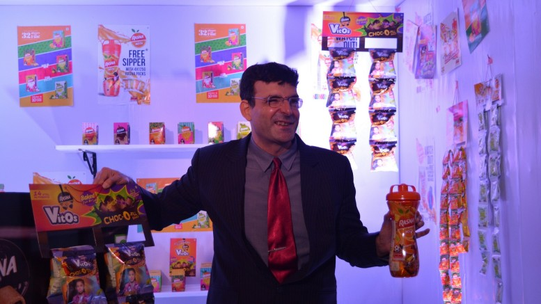 Mr. Piruz Khambatta, Chairman & MD Rasna with the newly launched product - Rasna Vitos
