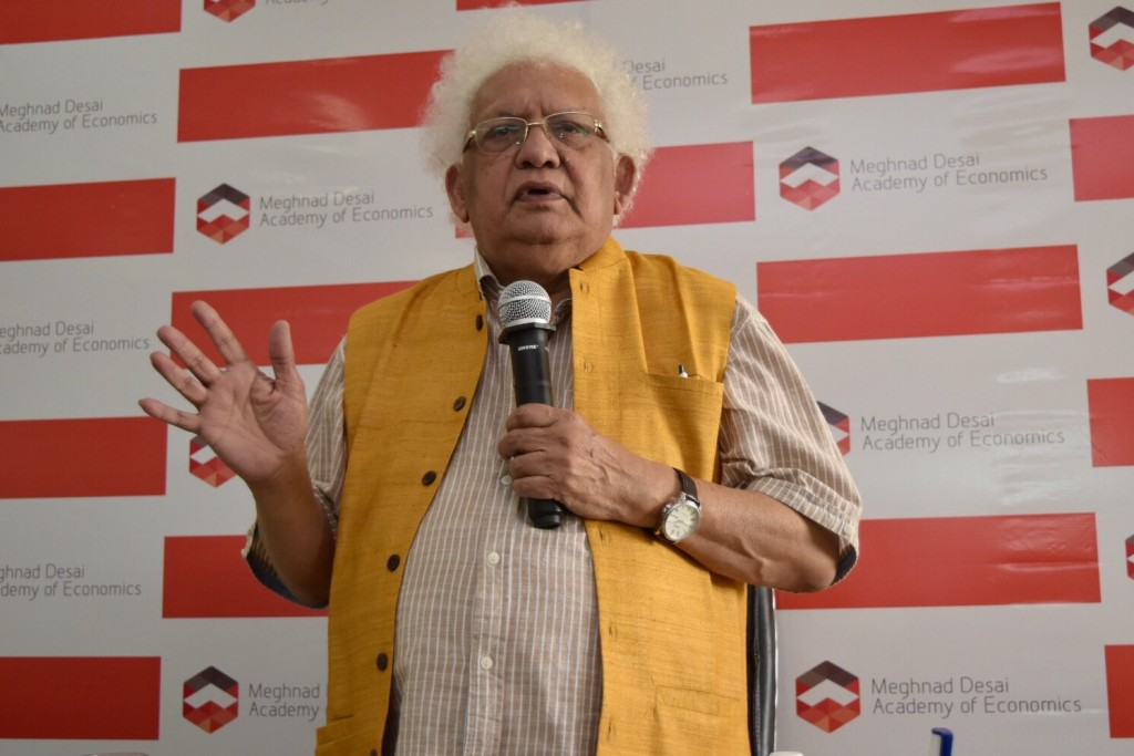 Lord Meghnad Desai - Photo By Sachin Murdeshwar GPN NETWORK.