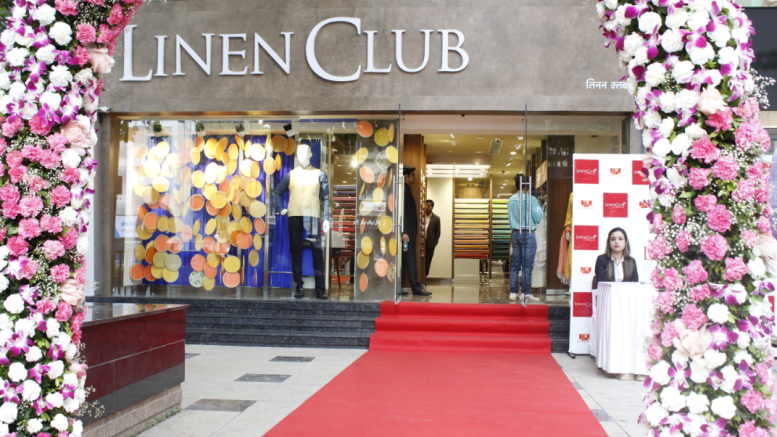 LINEN CLUB EXCLUSIVE BRAND STORE LOCATED AT LINKING ROAD, BANDRA-KHAR, MUMBAI - Photo By Sachin Murdeshwar GPN NETWORK.