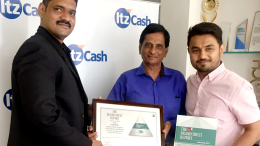 R to L Bhavik Vasa, Chief Growth Officer, ItzCash, Devesh Pandya, Chief Financial Officer, ItzCash Sachin Bhosle, Research Head, TRA - Photo By Sachin Murdeshwar GPN NETWORK.