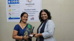 Citi Foundation & Swadhaar FinAccess launched the pilot for money management app 'Swadhaar Saathi', amongst 180 women from low income population across Ghatkopar, Bhandup & Thane areas.- Photo By Sachin Murdeshwar GPN NETWORK.