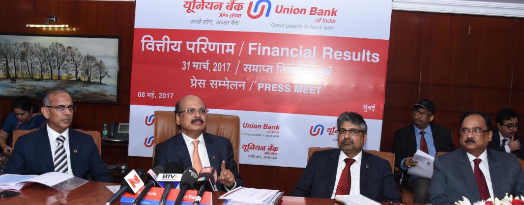 Arun Tiwari, CMD, Union Bank Of India Announces 'FINANCIAL ...