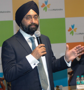 Kavinder Singh, Managing Director and Chief Executive Officer, Mahindra Holidays & Resorts India Limited announced its Consolidated and Standalone financial results for the quarter ended and year ended March 31, 2017, in Mumbai – Photo By Sachin Murdeshwar GPN NETWORK