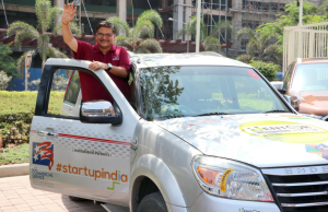 "Ahmedabad-based Indian management consultant Jagat Shah jointly launched the ""Mentor on Road – United States"" initiative in Mumbai – Photo By Sachin Murdeshwar GPN NETWORK"