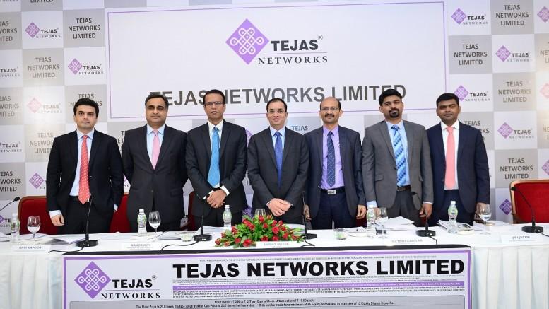 Tejas network ipo price