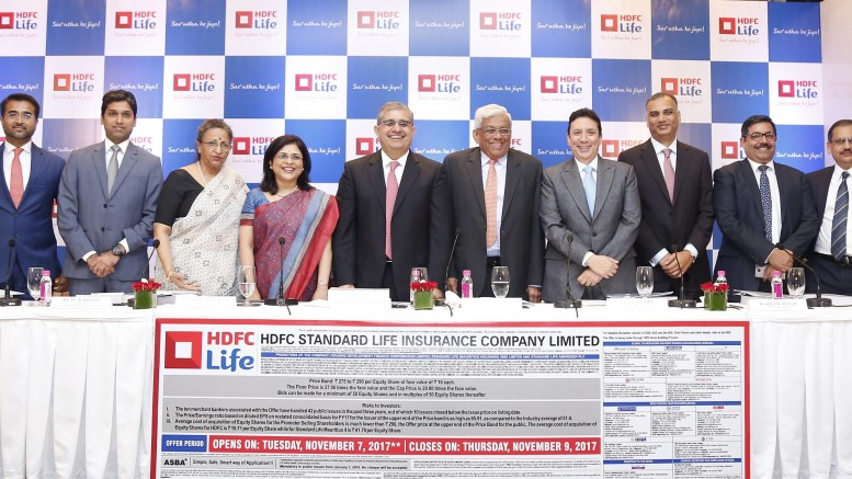 HDFC Standard Life Insurance Company Limited – Initial Public Offer