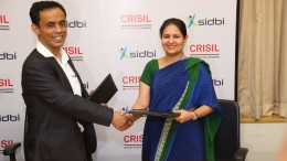 Shri Mohammad Mustafa, Chairman and Managing Director, SIDBI and Ms Ashu Suyash, MD and CEO, CRISIL Ltd. At the CriSidEx MoU signing - Photo By Sachin Murdeshwar GPN NETWORK