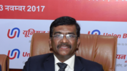 Shri Rajkiran Rai G, Managing Director & CEO,Union Bank Of India,on the occasion of  announcement of Q-2/H-1 Financial Results for the quarter/ half  year ended September 30, 2017 in Mumbai - Photo By Sachin Murdeshwar GPN NETWORK