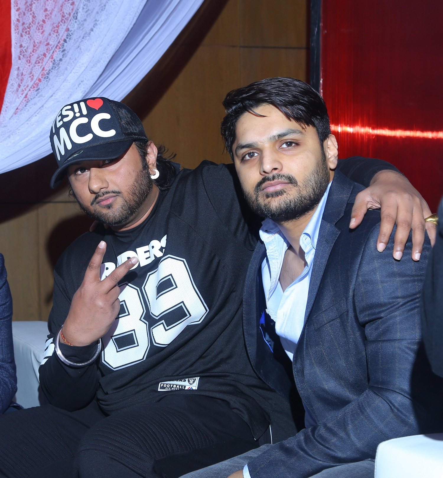Yo Yo Honey Singh with Imtiaz Khatri, Founder, VVIP Universal Entertainment - Photo By Sachin Murdeshwar  (Global Prime News)