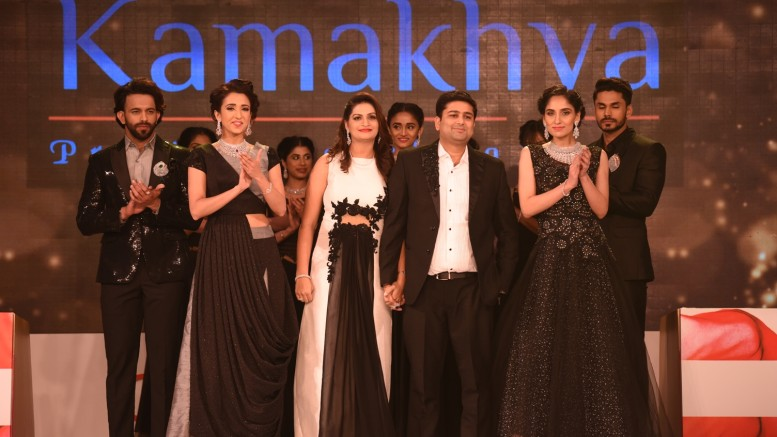Fashion show by Kamakhya Jewels at GJC's Manthan Gems & Jewellery Conclave 2018