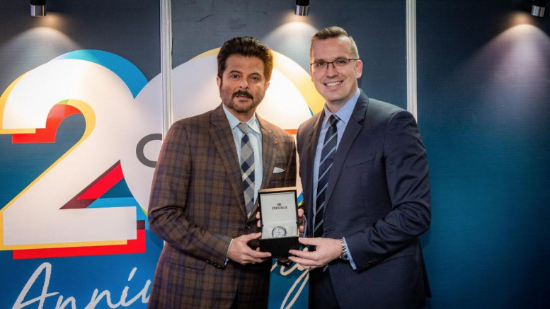Anil Kapoor with Clobal CEO of QNET - Photo By Sachin Murdeshwar