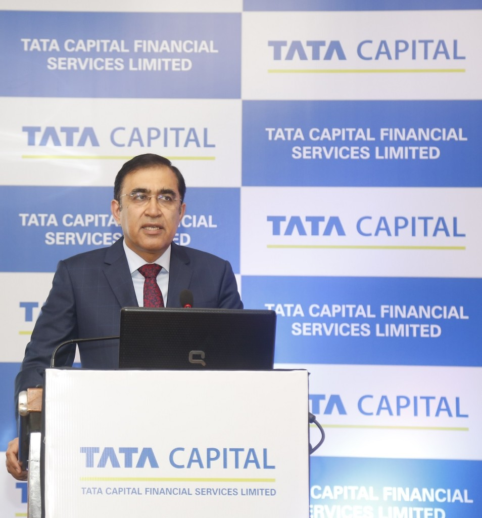 Mr. Rajiv Sabharwal , Director, Tata Capital Financial Services Ltd. at the announcement of the Tata Capital Financial Services Ltd. Public Issue of NCDs