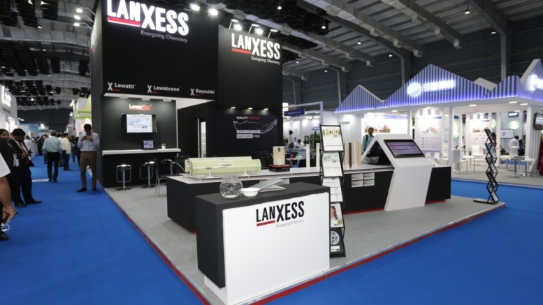 LANXESS Booth at IFAT India 2018