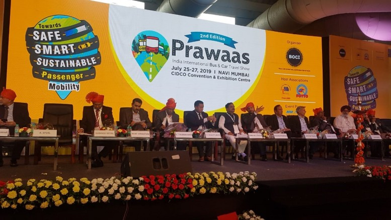 Rohit Srivastava, VP and Product Line Head, Passenger Commercial Vehicles, Tata Motors at PRAWAAS 2019