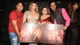 11. Deepak Noor, Rakhi Sawant, Mandakini Bora and Javed Hussain during the song launch CHAPPAN CHURI KPP_7794