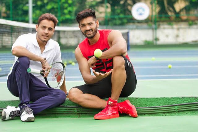 Ex-National player Kunal Thakkur and actor/entrepreneur Mrunal Jain co-founders of the Tennis Premiere League