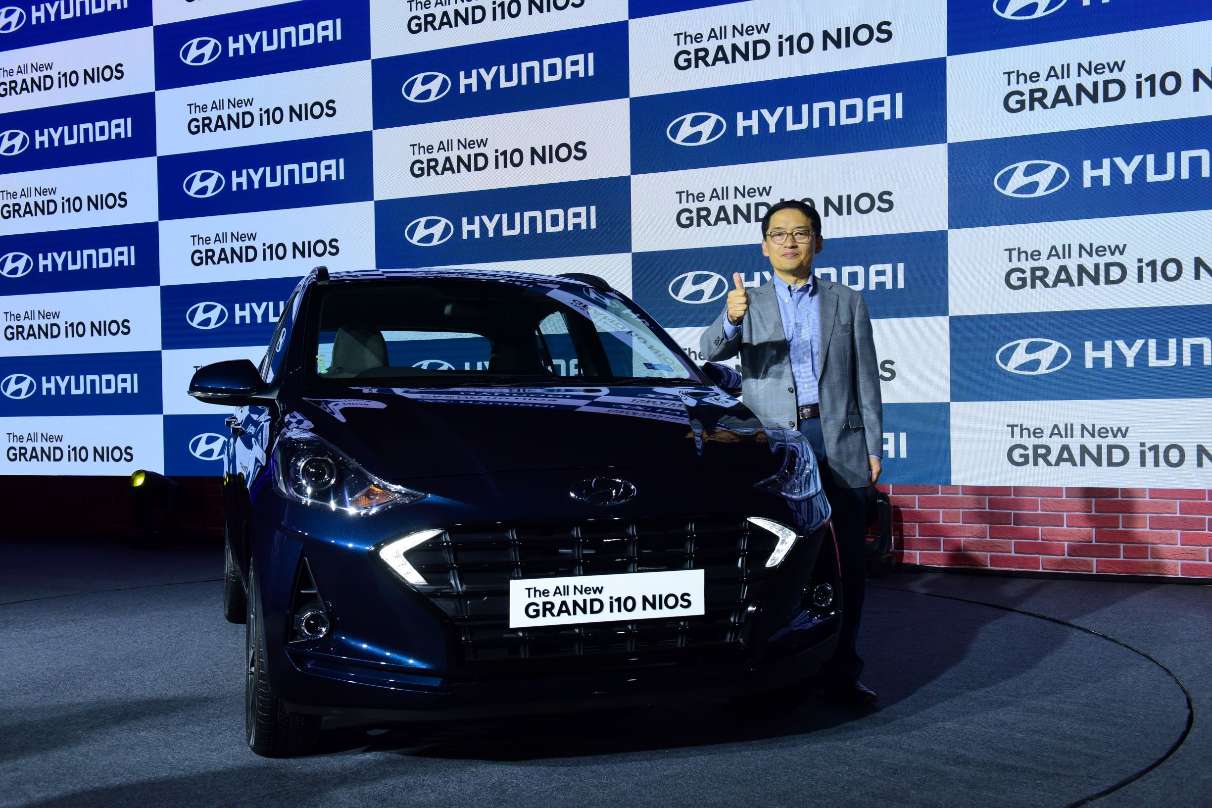 Mr. S.S. Kim, MD & CEO, Hyundai Motor India Limited at the Launch of Hyundai GRAND i10 NIOS in New Delhi -Photo By GPN