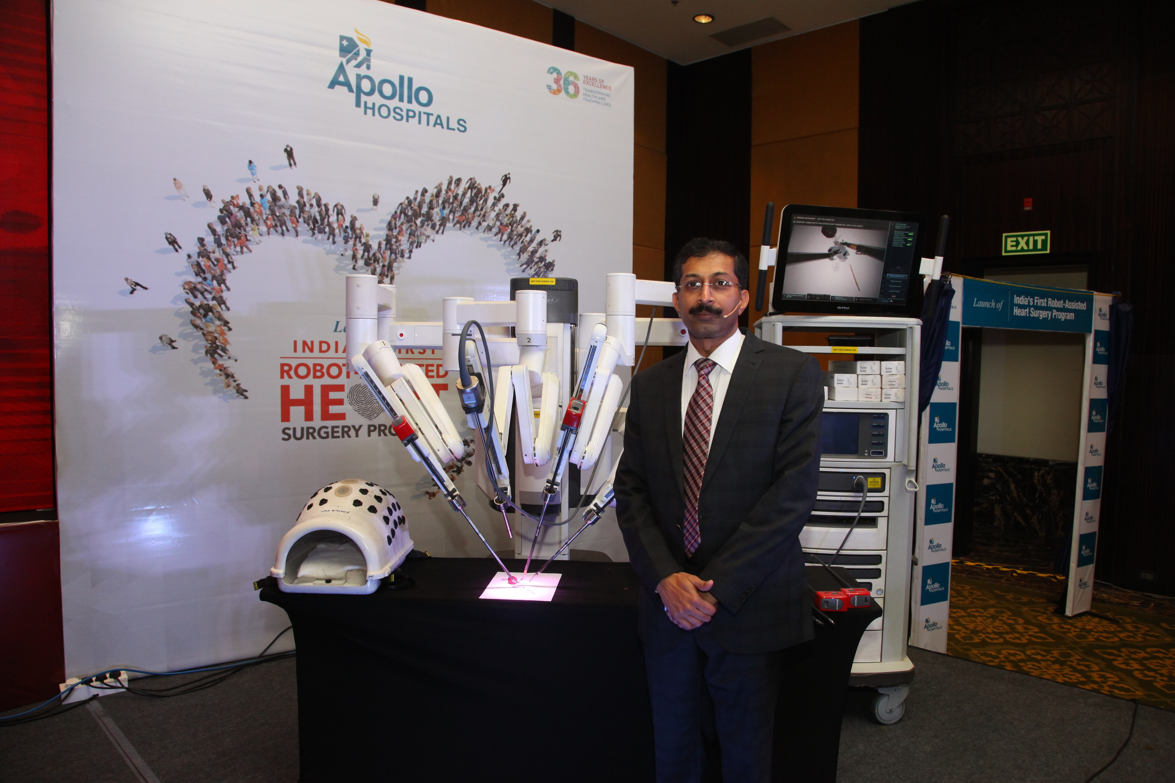 Apollo Hospitals Bangalore Launches First Dedicated Robot Assisted Cardiac Surgery Unit In India Global Prime News